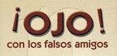 34 falsos cognatos em espanhol