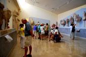 Turistas no Museu